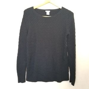 GAP Black Maternity  Knitted Sweater Size Large